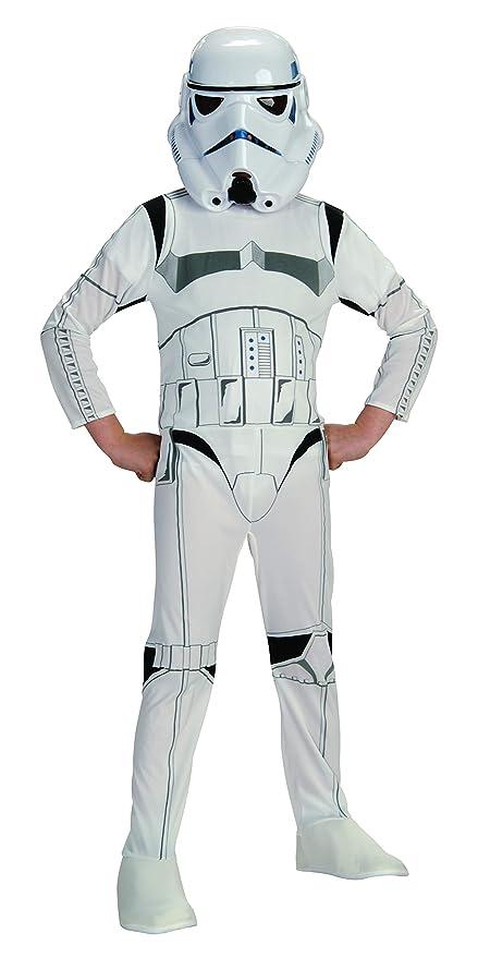 Stormtrooper Star Wars Trooper Fancy Dress Halloween Super Deluxe Child Costume