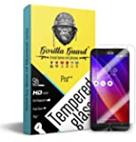 Gorilla guard's Pro series tempered glass for Asus Zenfone 2 laser 5.5 with HD+ ultra clear edge to edge 8H hardness, UV protect & anti-smudge technology TEMPERED glass phone protector (04-Asus-5laser-5.5-pro)