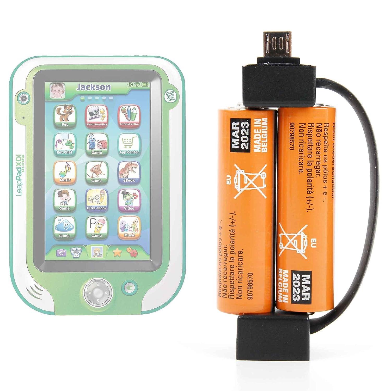 Portátil llavero cargador de batería para LeapFrog Ultra ...