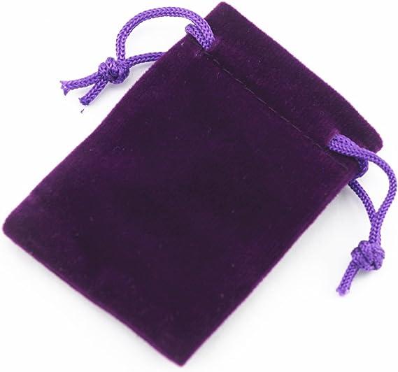 5 Gift Bag fabric bag velvet color cream