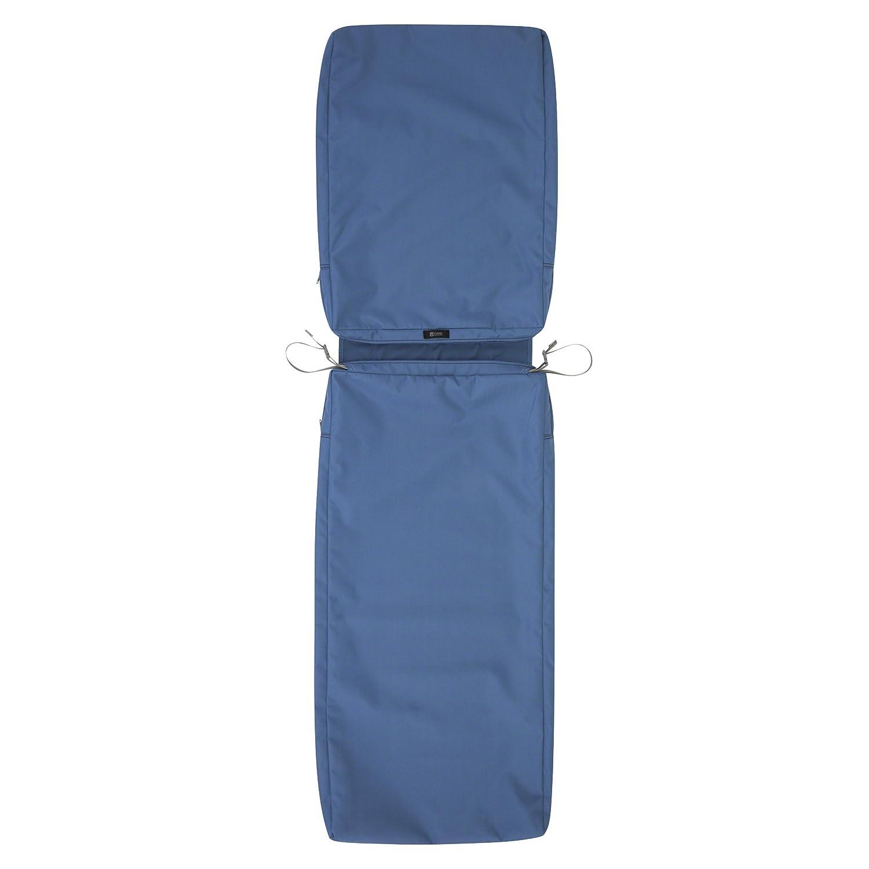 Classic Accessories Ravenna Patio Chaise Lounge Cushion Slip Cover