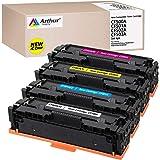 Arthur Imaging 兼容硒鼓,适用于 HP 202X CF500A CF500X 202A HP M281fdw M254dw HP Color Laserjet Pro MFP M281fdw M281cdw M254dw M254dn M254nw M280 M281 CF500X CF502X CF503X 打印机