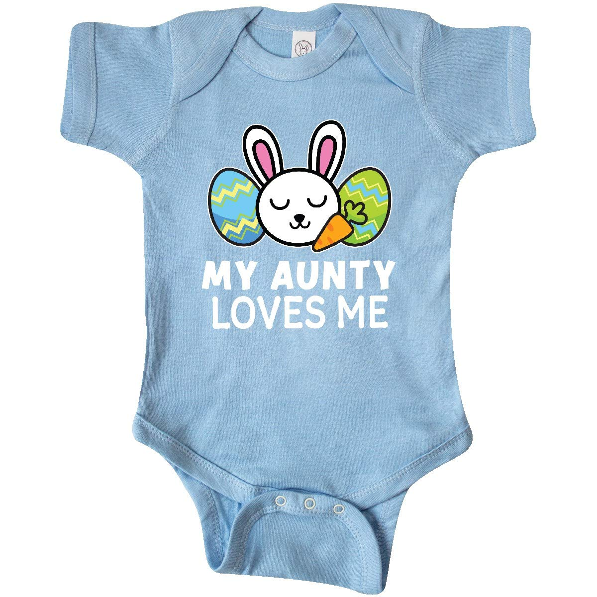 inktastic My Great Aunt Loves Me with Bunny and Easter Eggs Toddler T-Shirt