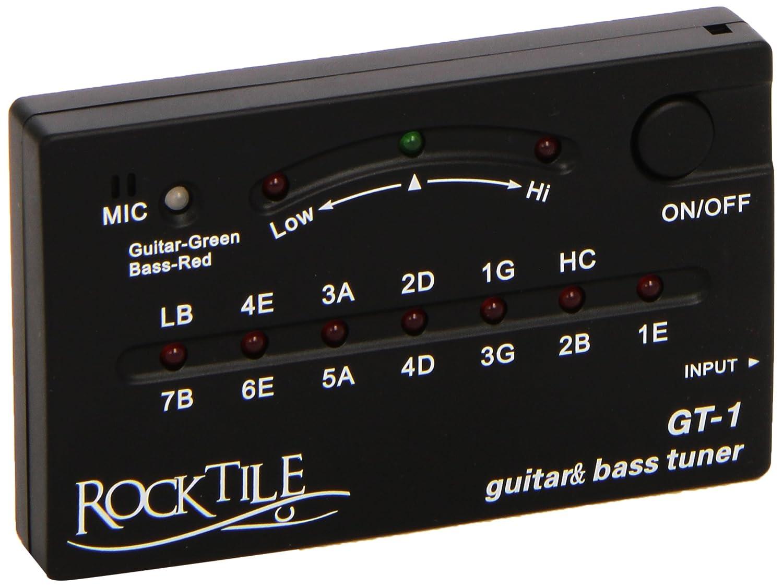 RocktileGT-1 accordeur pour guitare / basse