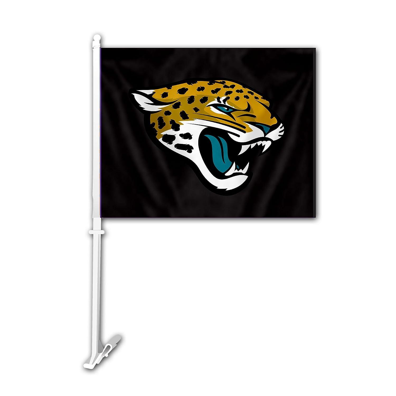 NFL Jacksonville Jaguars Car Flag Fremont Die 98936