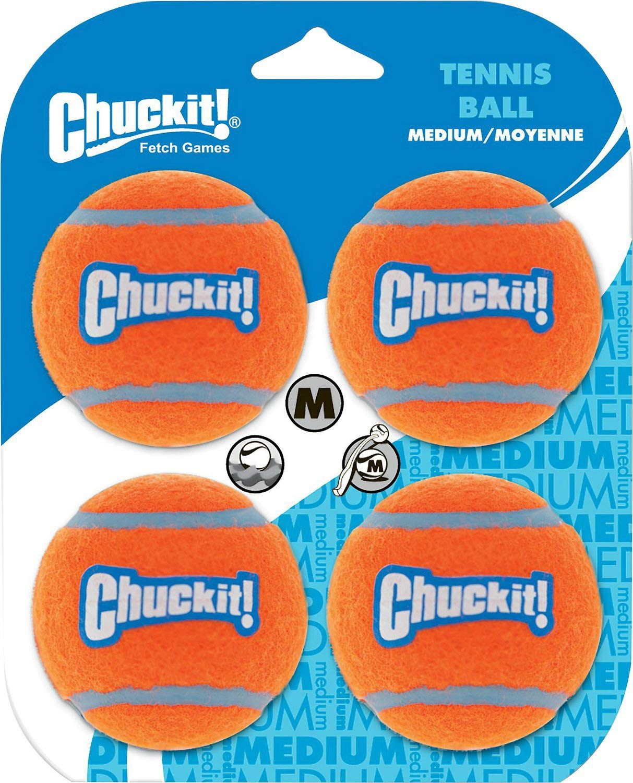 Chuckit! Tennis Ball Medium 48pk (12 x 4pk)