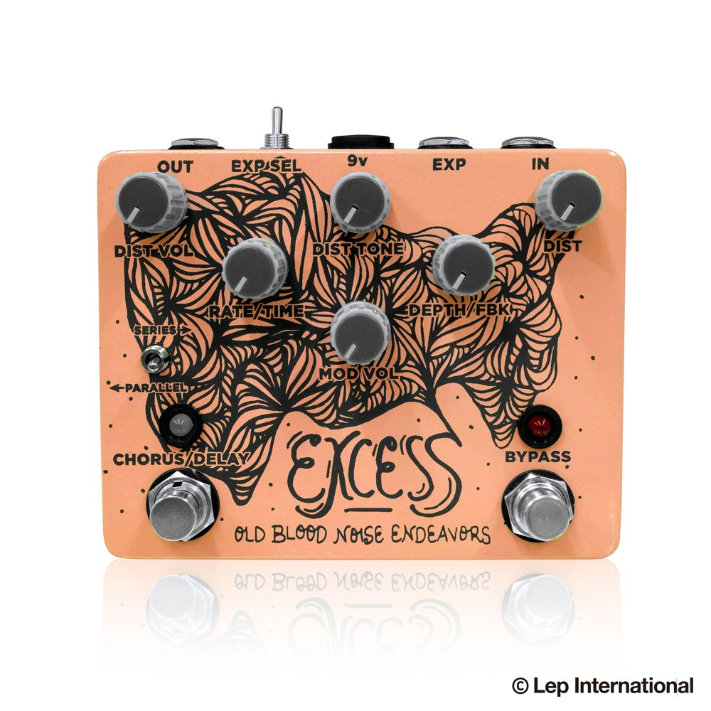 Old Blood Noise Endeavors Excess ギターエフェクター B07DR87C2P