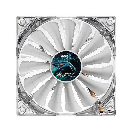 20 opinioni per Aerocool Shark Ventola da 140 mm a 1500 Giri, Great White