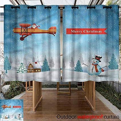 Amazon.com: Sunnyhome - Cortinas para salón o dormitorio ...