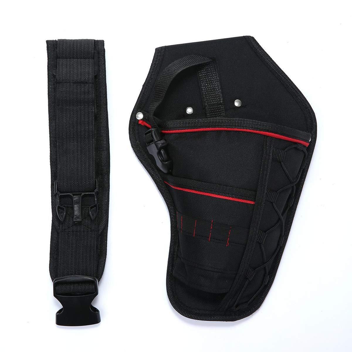 Electronic Storage Bag, Kisstaker Electrician Waist Pocket Tool Belt Pouch Bag Screwdriver Utility Kit Holder