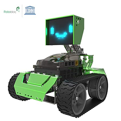 Amazon Com Robot Toy Robobloq Robots Kits Diy Robots Programming