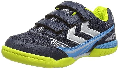 Hummel HUMMEL Root Velcro JR - Zapatillas Deportivas para Interior de Material sintético Niños^Niñas: Amazon.es: Zapatos y complementos