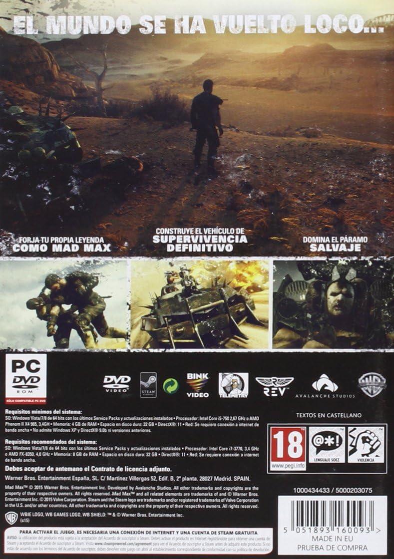 Mad Max: Amazon.es: Videojuegos