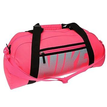 d908a4caf8c8a Nike NIKE GYM CLUB Grip Gym Reisetasche Pink Schwarz Sport Gymbag Kitbag