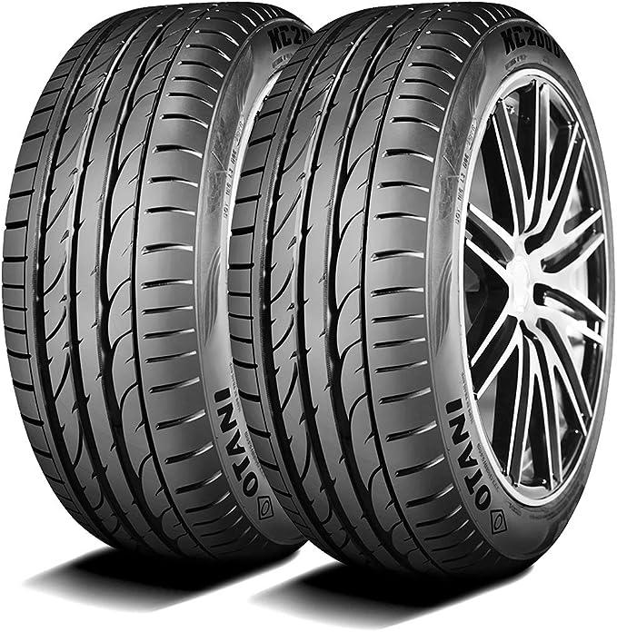 Set of 2 TWO Cosmo MuchoMacho High Performance All-Season Radial Tires-225//40ZR18 92Y XL