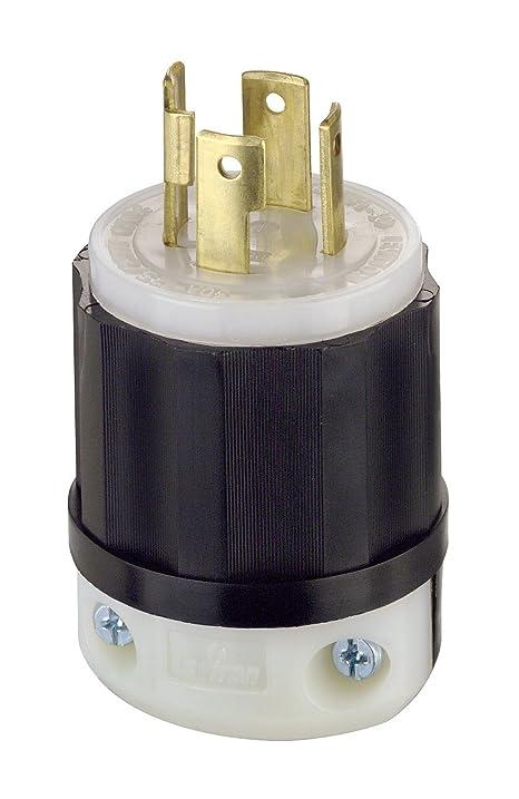 71WbW%2BLL1IL._SY717_ leviton 2711 30 amp, 125 250 volt, nema l14 30p, 3p, 4w, locking  at soozxer.org