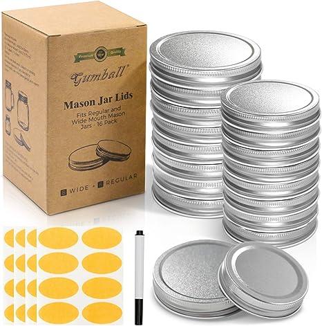 Mason Jar Lid Sizes