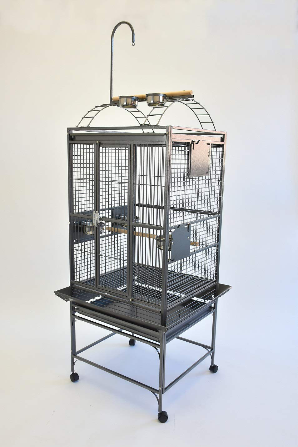 Petsfella 24X22 Play TOP Parred CAGE with Toy Hanger Conure Quaker