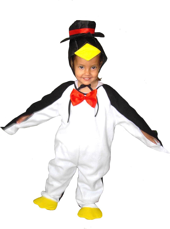 El Carnaval Disfraz pingüino Bebe Talla de 1 a 2 años: Amazon.es ...