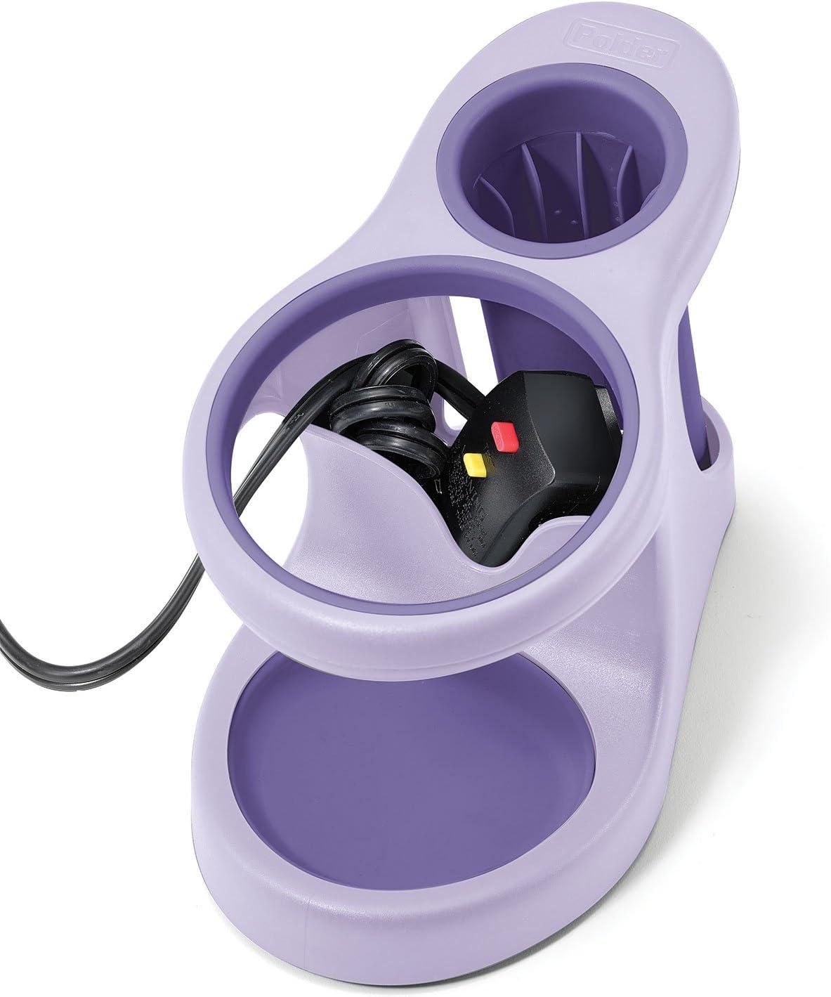 Polder bth-7080/ /126/Style e conservare Accessorio per Il Bagno Purple//Gray