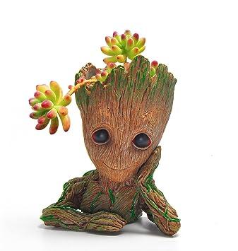 Tree Arbre Amberfish Bebe Groot Pot De Fleurs Mignon Petit Pot De