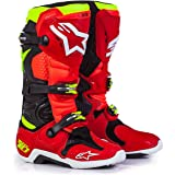 Alpinestars LE Torch Tech 10 Men's Off-Road Motorcycle Boots - Black/Red/Yellow / 9