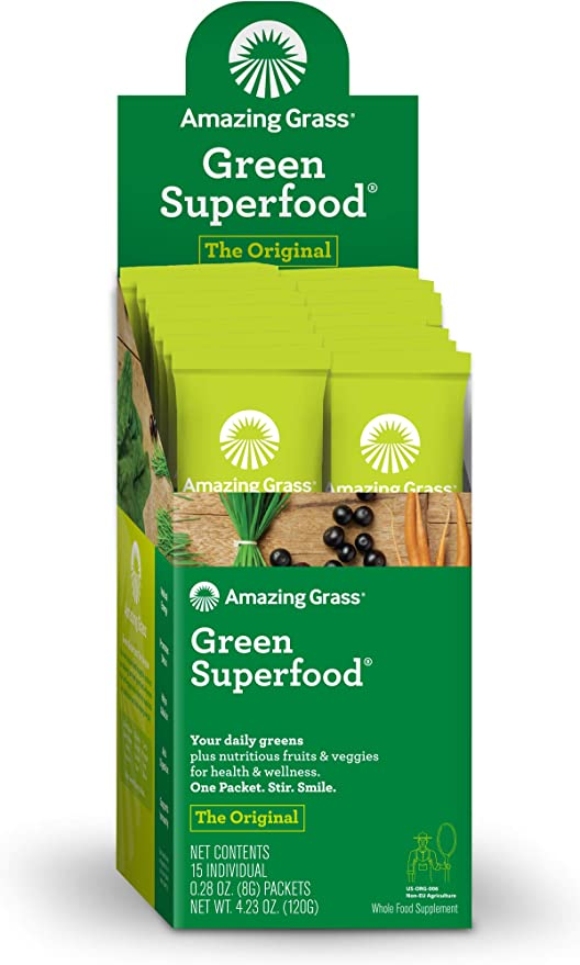 Amazing Grass Green Superfood, Suplemento Alimenticio en ...