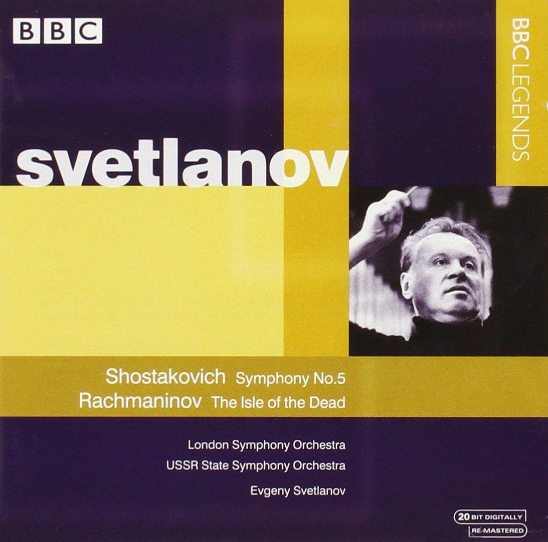 Shostakovich: Symphony No. 5 / Rachmaninov: The Isle of the Dead by Alliance