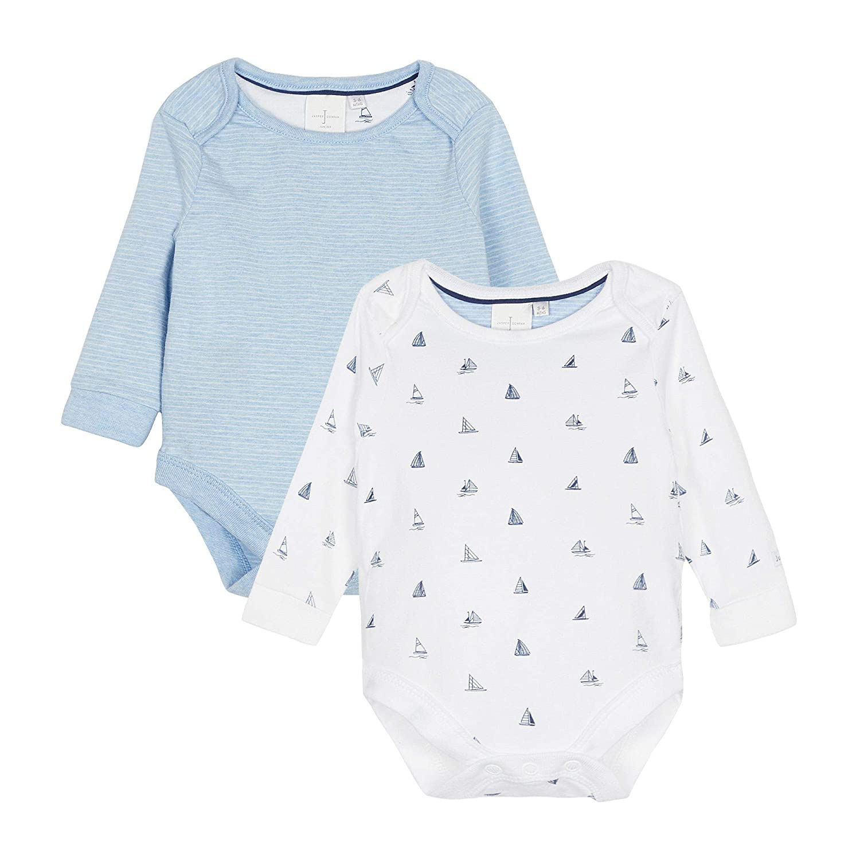 J By Jasper Conran Kids Babies Light Blue Knitted Border Blanket