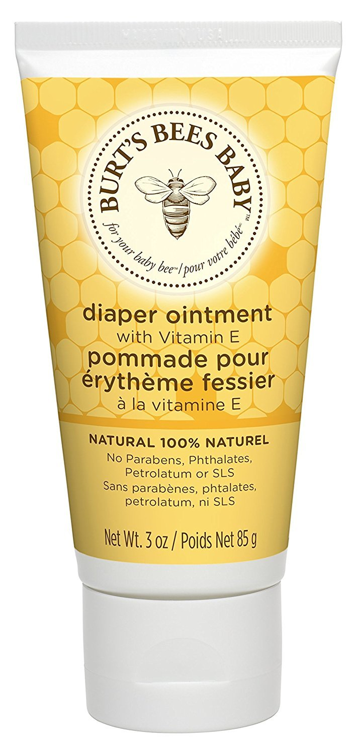 Burt's Bees Baby Bee 100% Natural Diaper Rash Ointment, 3 Ounce Tube (Pack of 3)