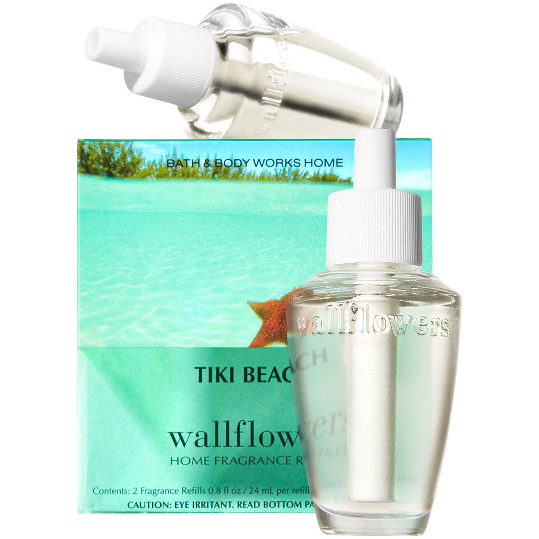 Bath and Body Works New Look! Tiki Beach Wallflowers 2-Pack Refills