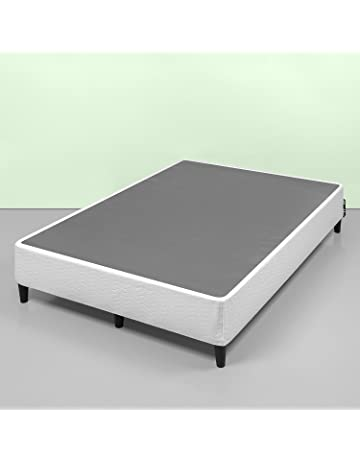 Zinus Keenan 14 Inch Free Standing Smart Box Spring / Mattress Foundation /  With 9 Support