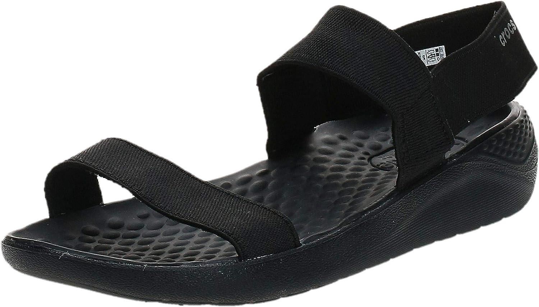 Crocs Literide Clog Damen Damenschuhe Badeschuhe Sandalen Hausschuhe 204592-3TP