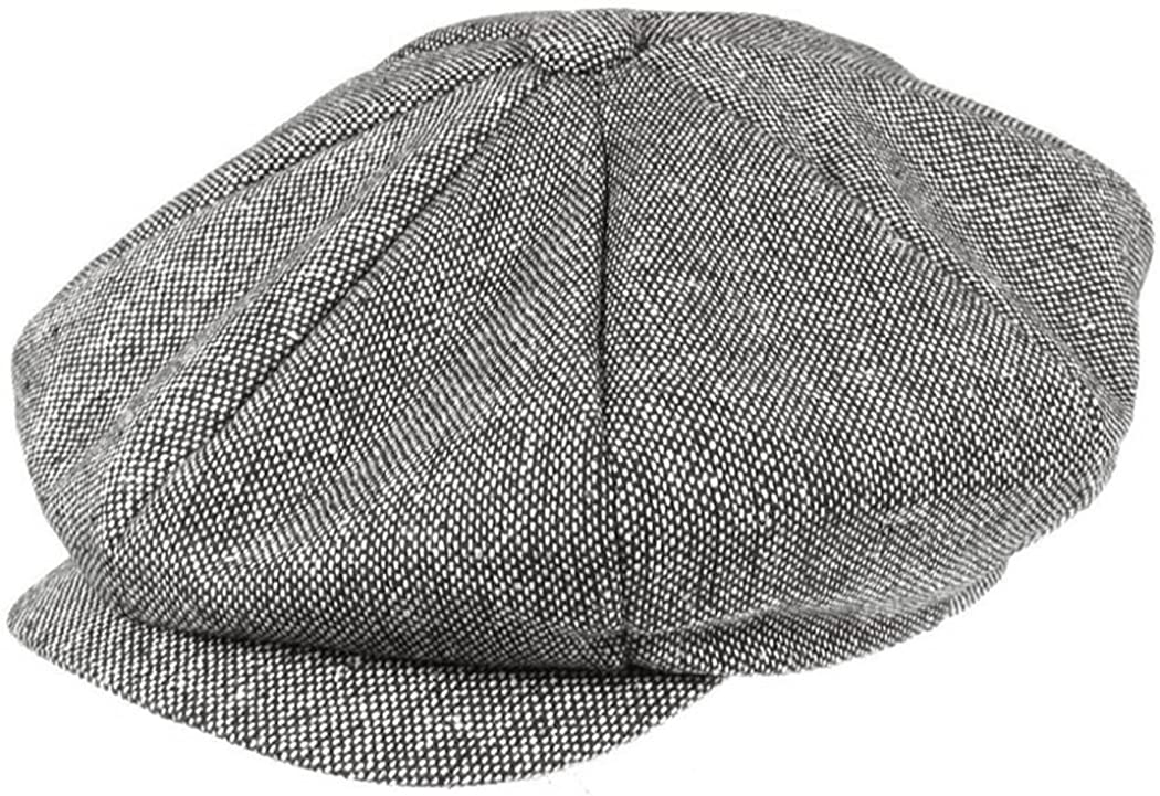 Jaxon Marl Tweed Big Apple Cap