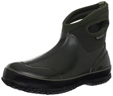 7c8da2751f2e0 Amazon.com | Bogs Women's Classic Short Waterproof Boot | Rain Footwear