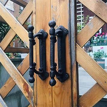 Antique Iron Finish Industrial Style Cupboard Door Handlegirder rustic pull