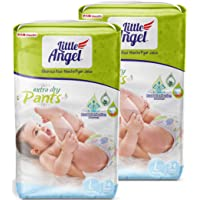 Little Angel Baby Pull Ups, Large (68 Pcs 2 Pack)
