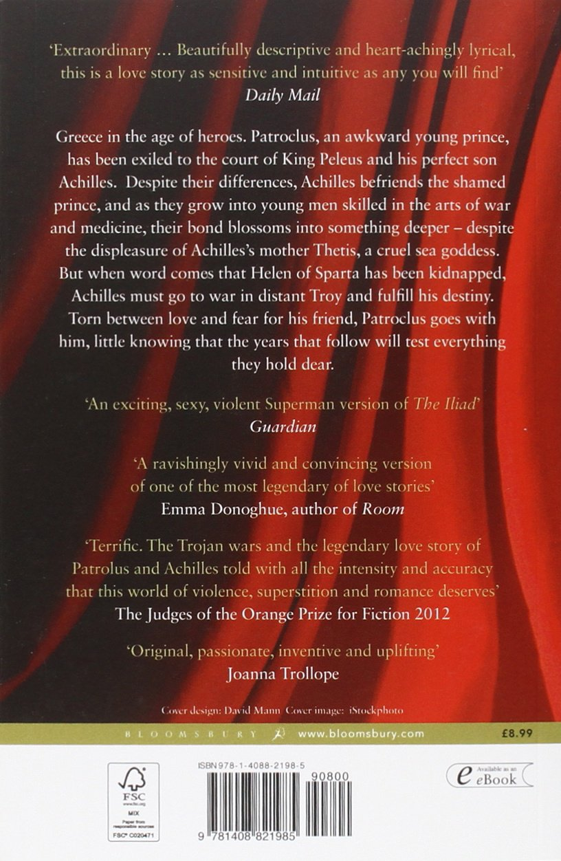 the song of achilles co uk madeline miller 9781408821985 the song of achilles co uk madeline miller 9781408821985 books