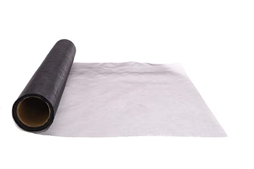 TOYLAND 40 cm X 9 m Sheer Organza Rollo de Tela Silla de Boda Sash Arcos Mesa Runner Decoration (Negro)