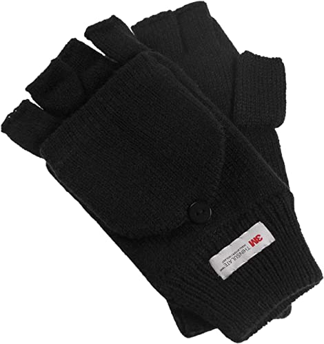 Anshili 2 Paar Damen lange elastische Fingerlose Handw/ärmer Halbfinger Handschuhe