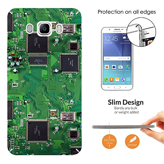Amazon Com 000701 Circuit Motherboard Chip Retro Design Samsung