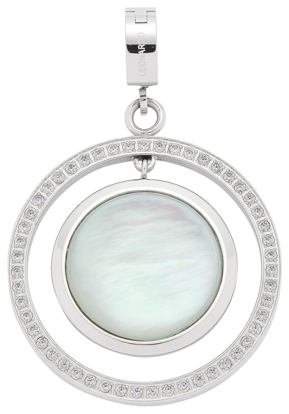 Leonardo Jewels Damen Anhänger Darlin's Graziella Edelstahl Glas mehrfarbig 016286