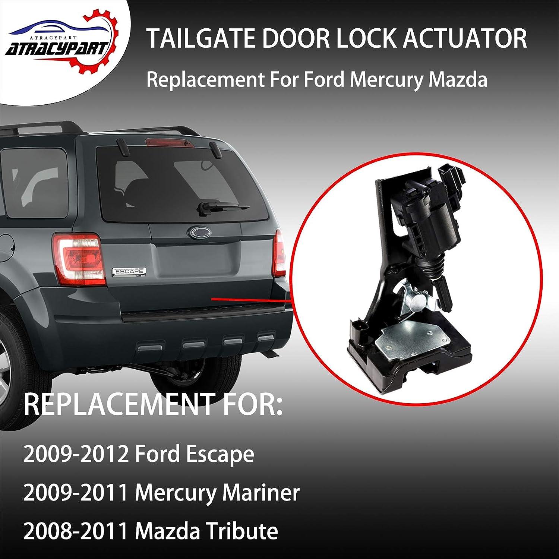 SCITOO Power Door Lock Actuators Rear Left Door Latch Replacement Fits for 2009-2019 Ford 2009-2016 Lincoln