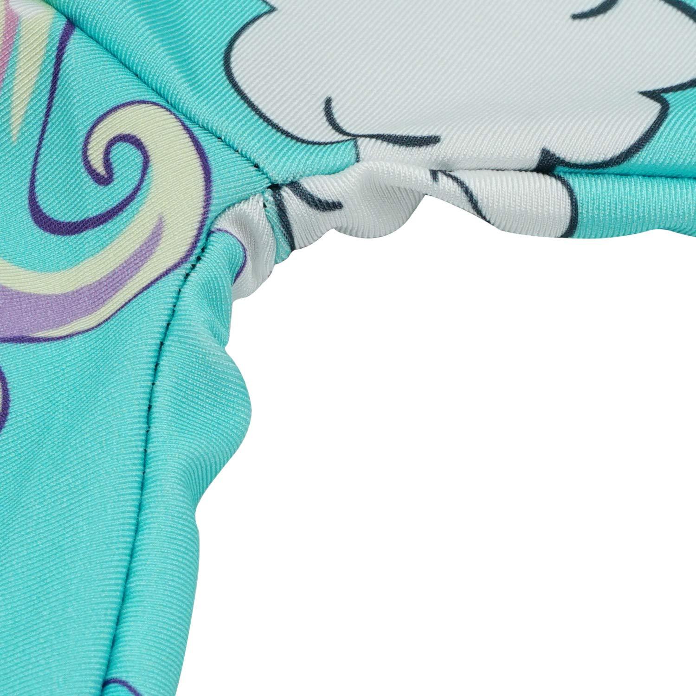 Tights Gymnastics Athletic Full Length Toddler Pants Blue Unicorn Eichzhushp Little Girls Unicorn Leggings