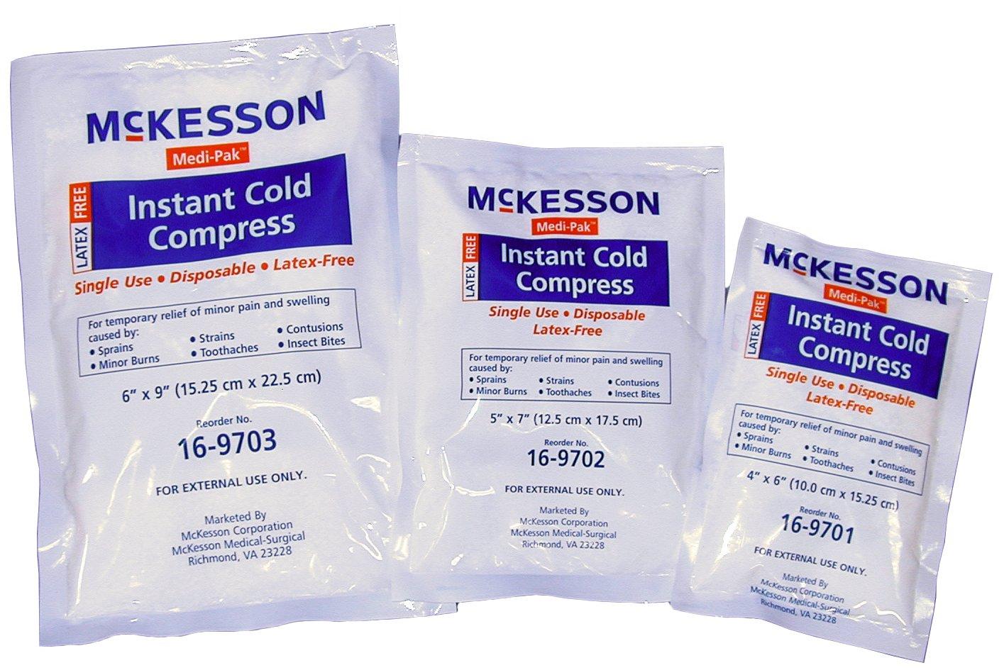 Bolsa de frío instantáneo McKesson 16-9701 Medi-Pak - 10,16 ...