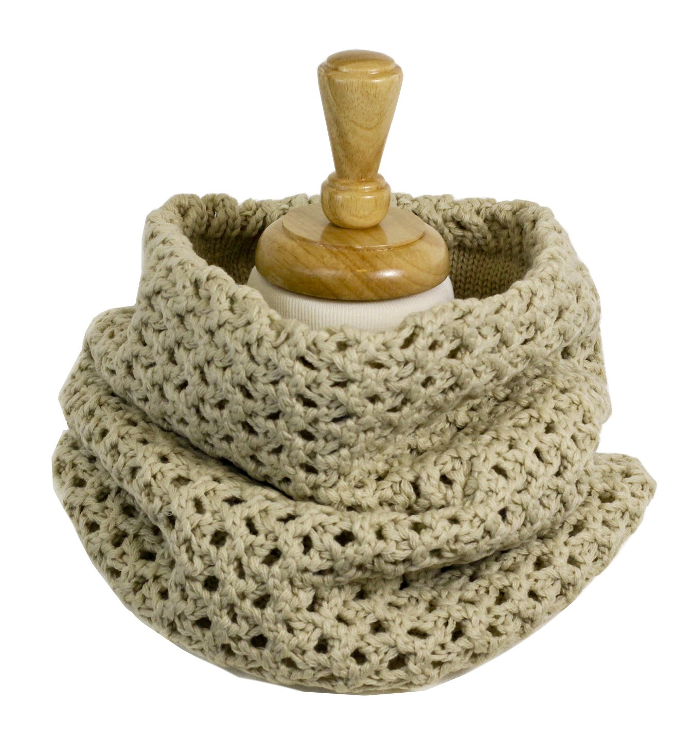 Cozy Chunky Knitted Cowl Scarf for Women / Men