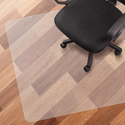 ufficio 50 x 80 cm in PVC mobili Tappetino per sedia per casa antiscivolo sotto i tavoli Non null Come da immagine resistente ai graffi trasparente per tappeti rettangolare