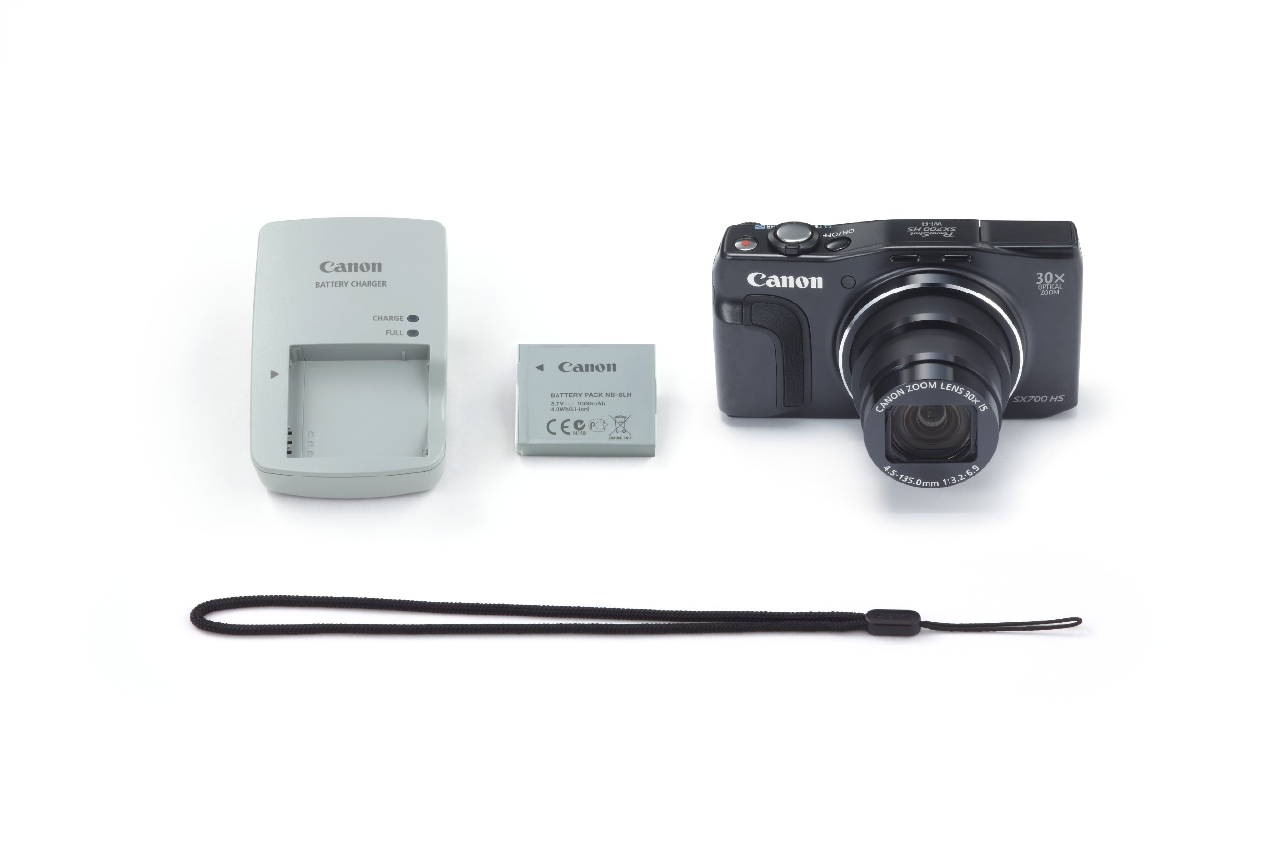 Canon PowerShot SX700 HS Digital Camera - Wi-Fi Enabled (Black) by Canon (Image #9)