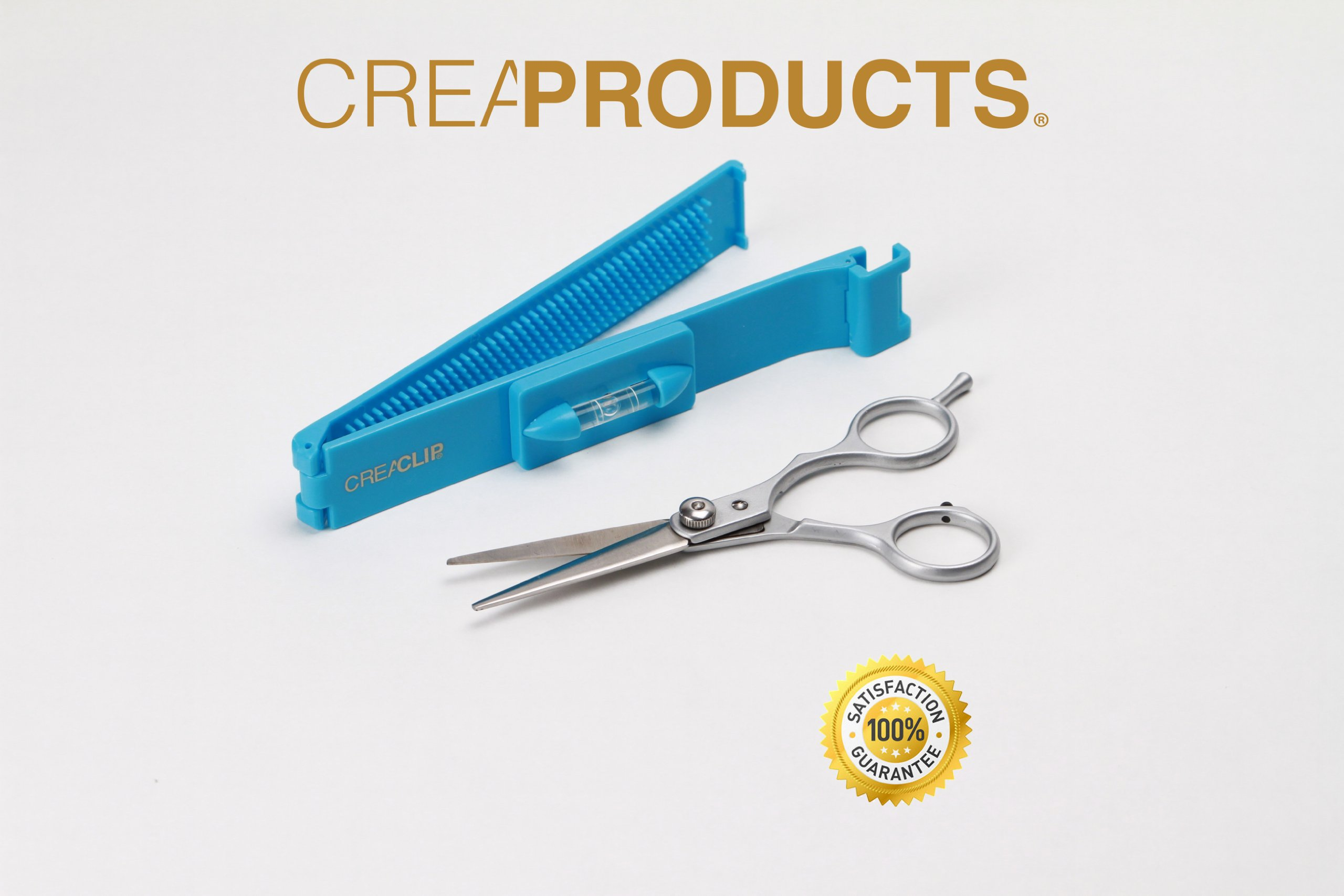 Original CreaClip Bangs and Scissors – As seen on Shark Tank – Professional Hair Cutting Tool by CreaProducts (Image #2)