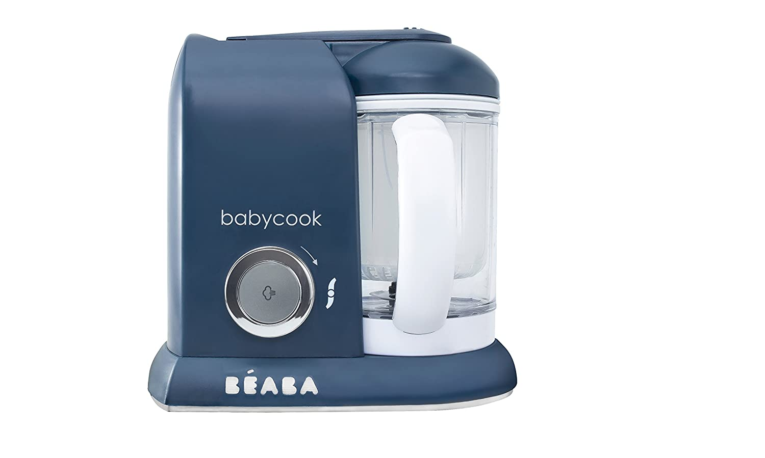 BEABA Babycook 4 in 1 Steam Cooker and Blender, Navy